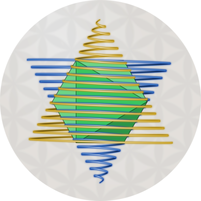 GoldenBlue Spiral