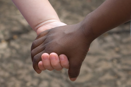 Kids handshake