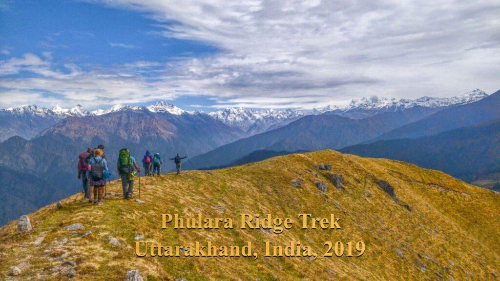Phulara Ridge Trek, India Hikes, 2019